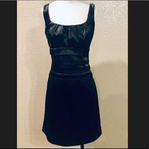 NWOT B Darlin satin LBD little black dress 11/12